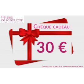 Chèque Cadeau 30€